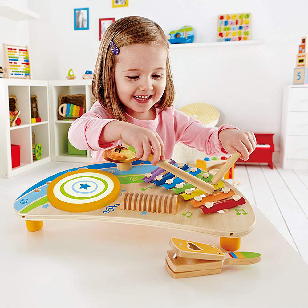 Hot 1-2-Year-Old Intelligence Early Education Intelligence Playing And Ringing