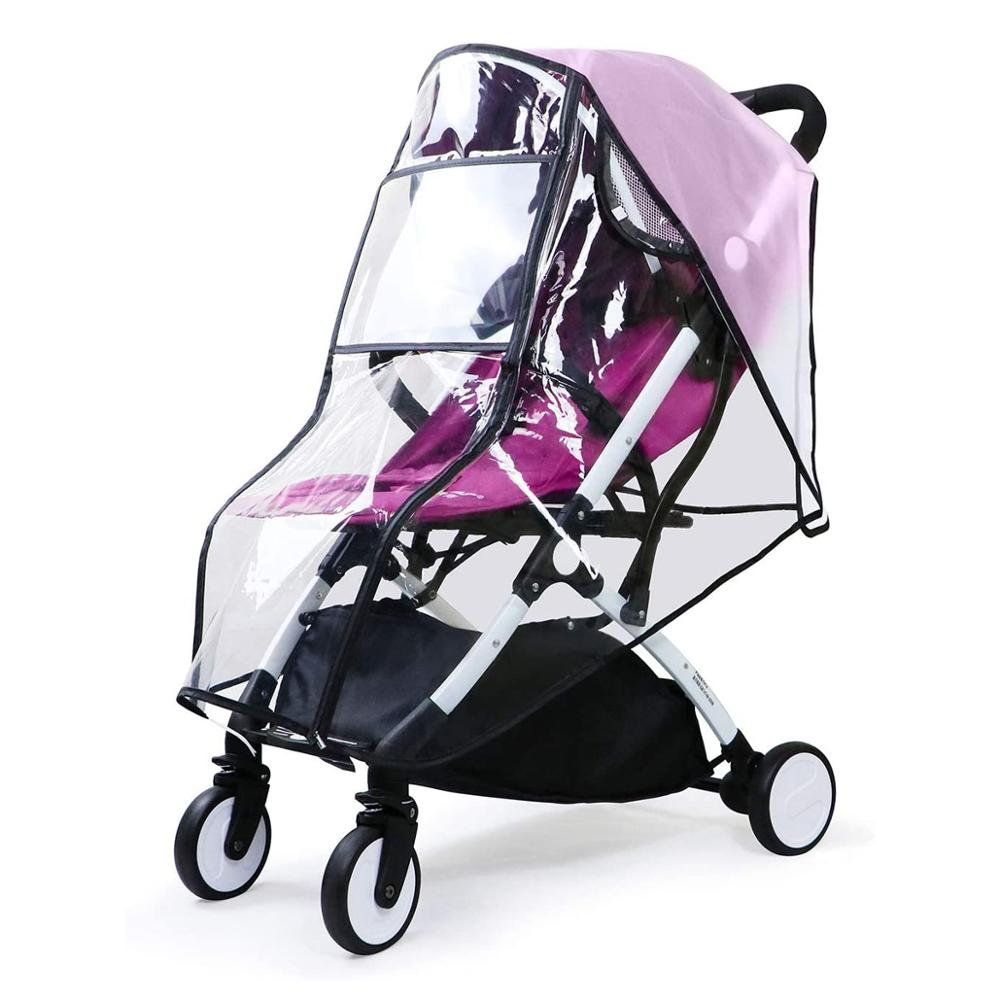 Baby Travel Universal Transparent Clear Pushchair Stroller Buggy Pram Waterproof Windproof Rain Cover