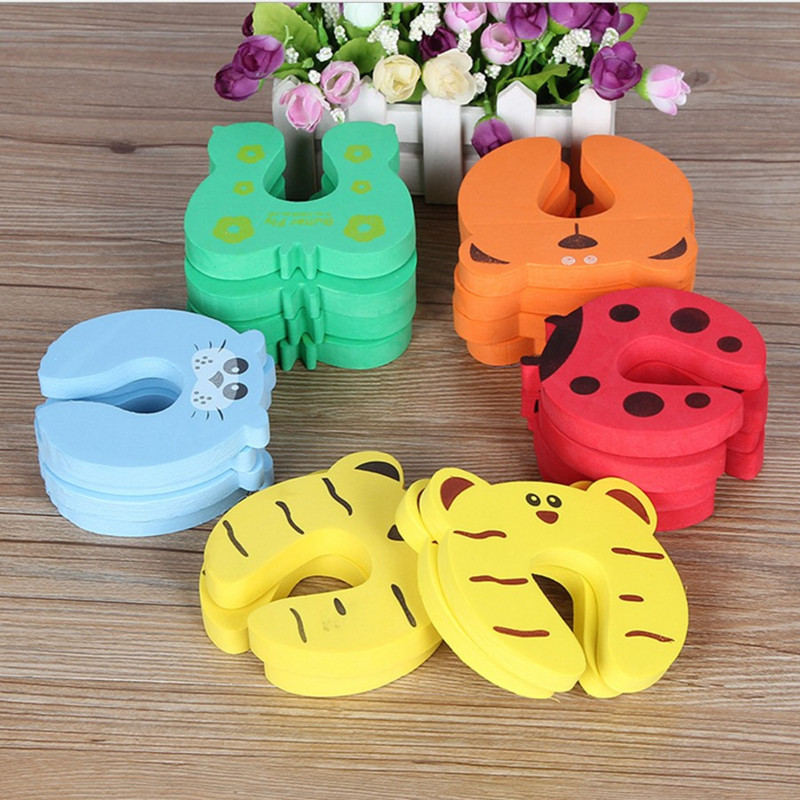 EVA Door Stopper For Children And Kids Safety Cartoon Animal Door Stopper