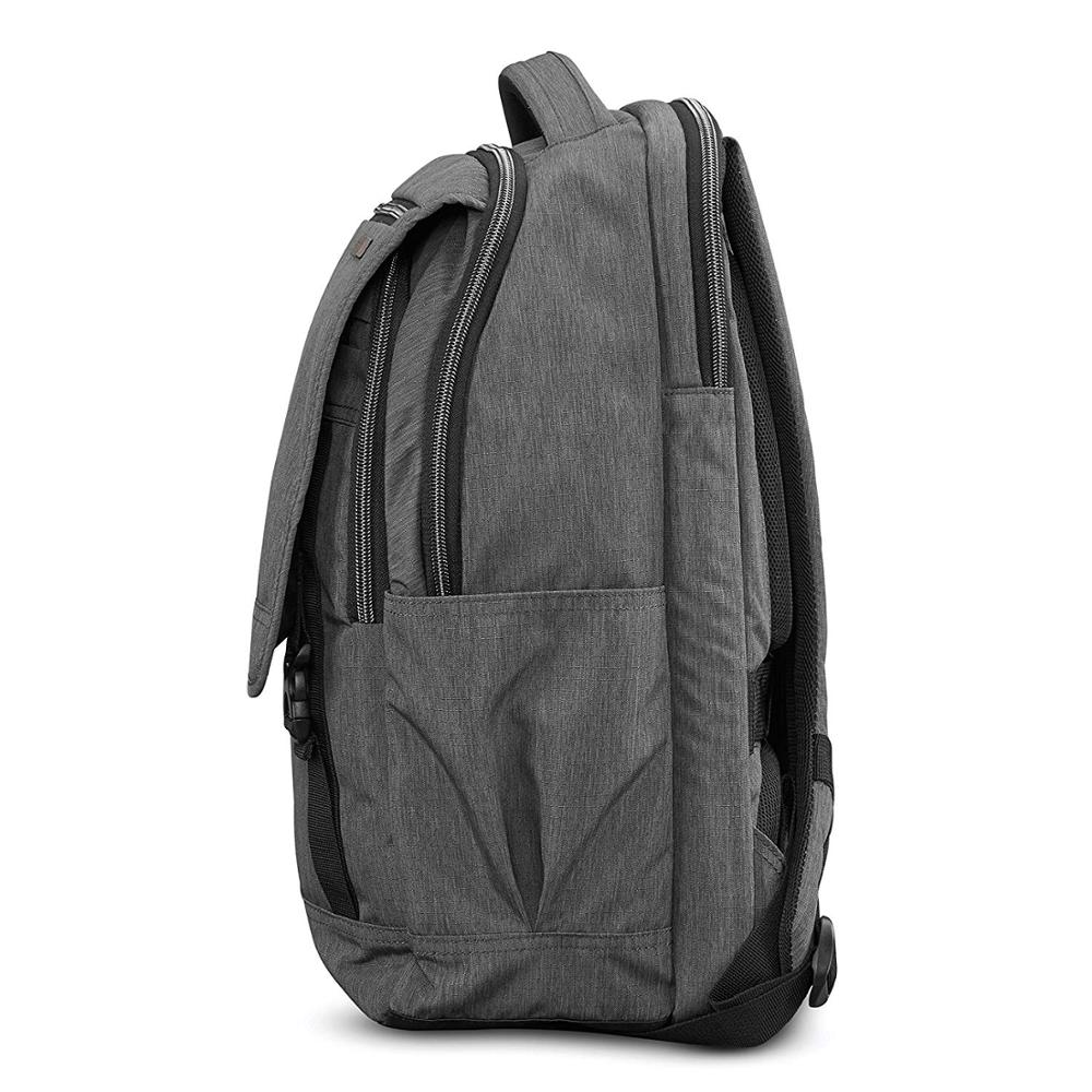 Modern Utility Backpack Laptop, Charcoal Heather