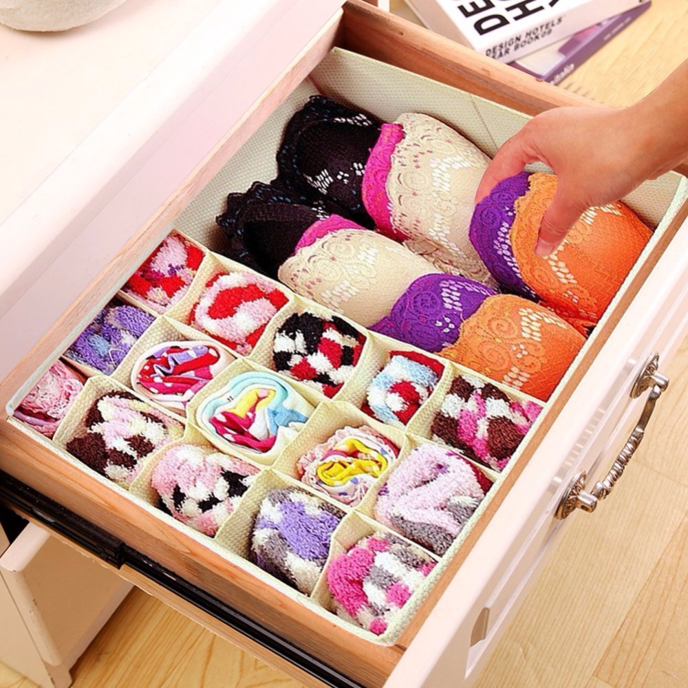 Custom Clothes Packaging Box Storage Boxes Bins Organizer Folding Storage Box For Clothing