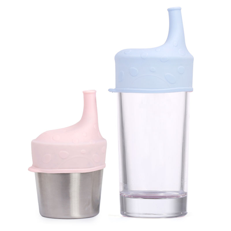 Wholesale BPA free Baby Toddler Cup Cover Silicone Sippy Cup Lids Sippy Tops