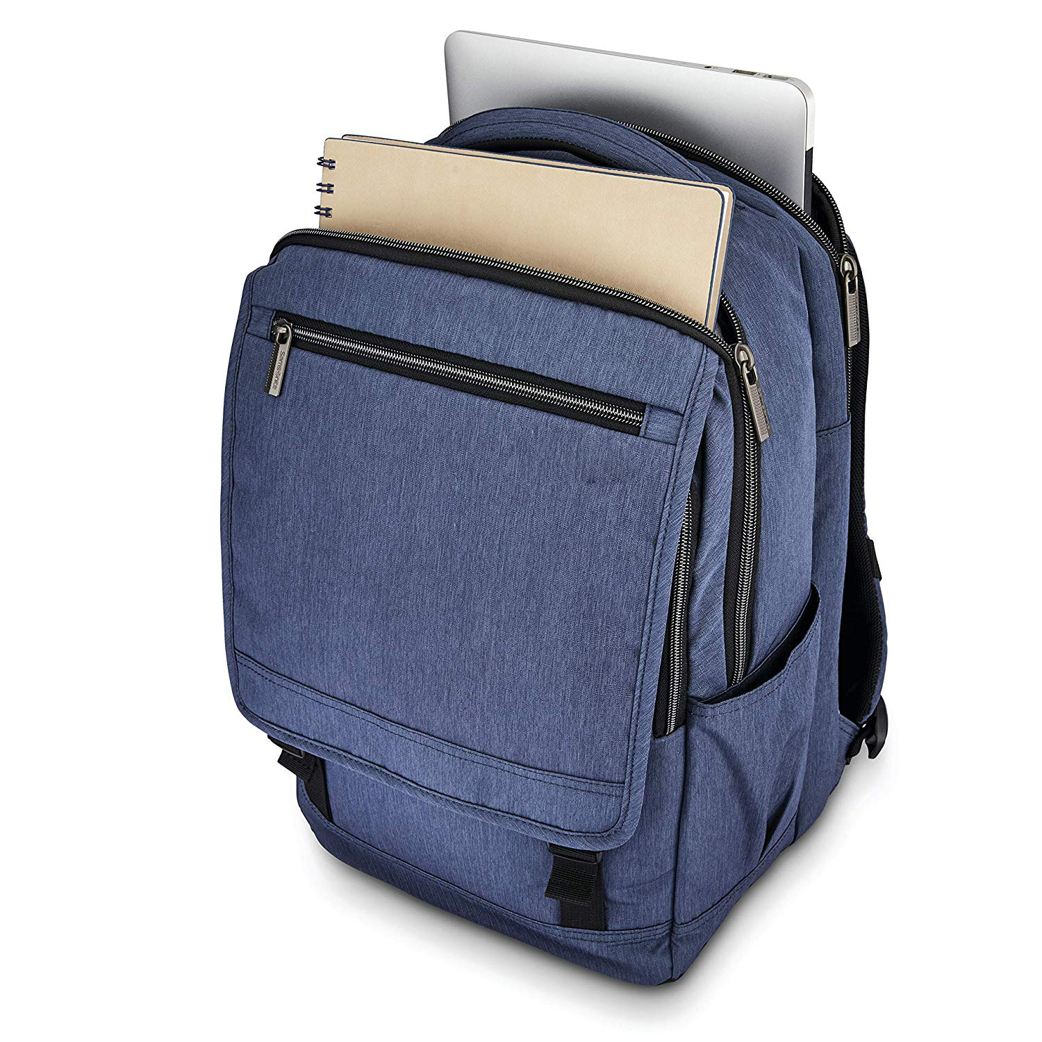Modern Utility Paracycle Backpack Laptop, Charcoal Heather, One Size
