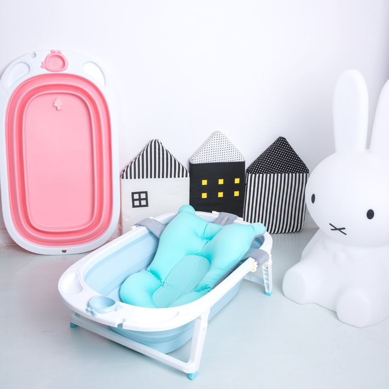 New style foldable baby bathtub/good folding baby bath tub with portable fold bathtub