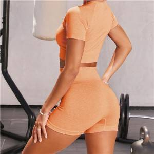 2020 Women Gym Suit Sport Bra Tops Yoga Leggings Set Private Label Yoga Pants Set Yoga Zc2865