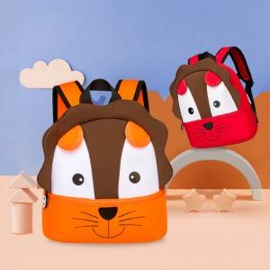 Unicorn school bag Animal Kids Backpack 3D Cartoon