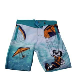 Plus Size Mens Camo Board Shorts