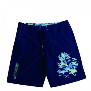 Quick Dry Sublimation Mens Flamingo Swim TrunksPlus Size Beach Shorts Mens Swim Trunks