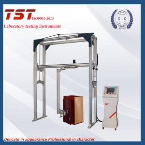 Integral cabinet door opening and closing durability tester
