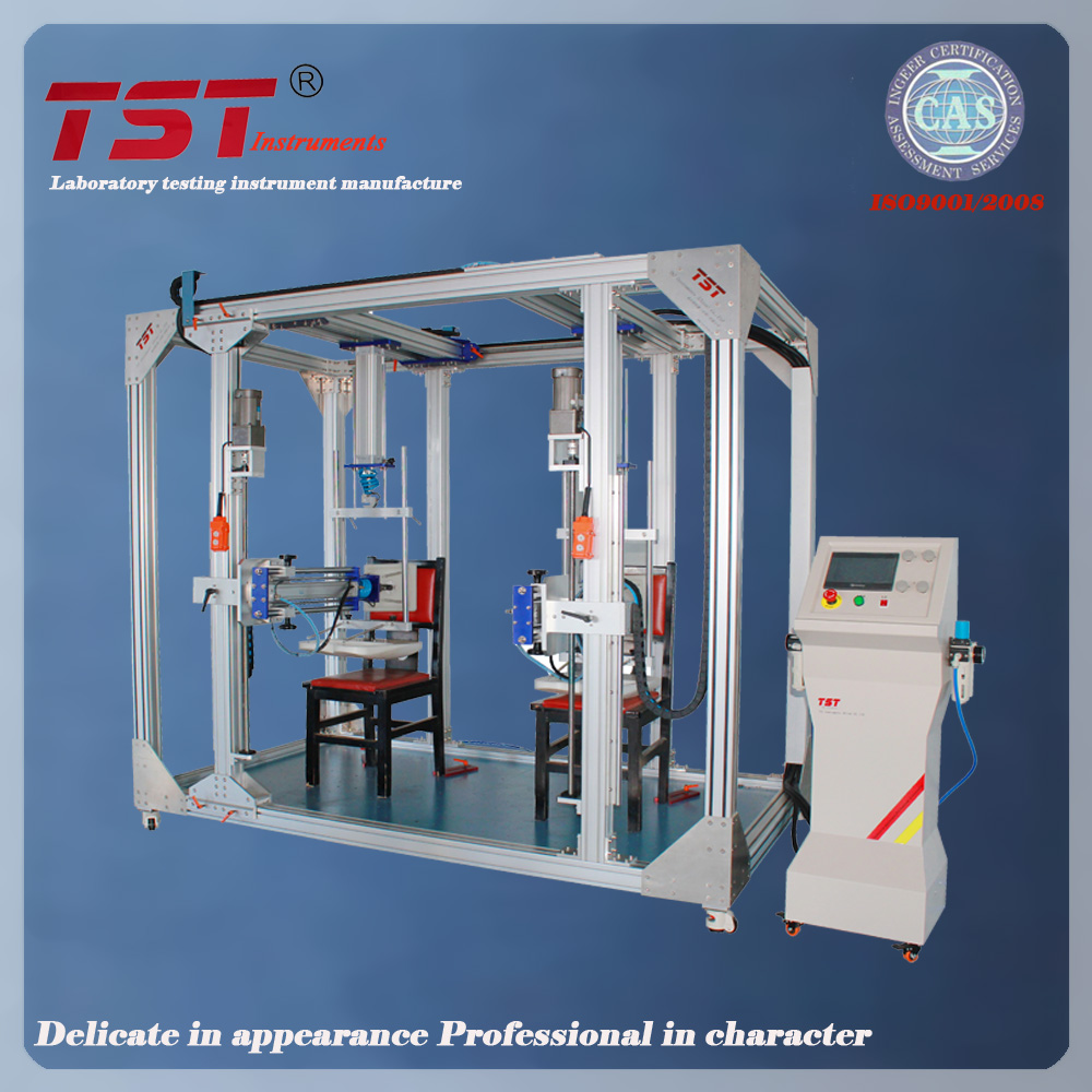 Office furniture Chair seat and back rest combined testing machine-chair fatigue test