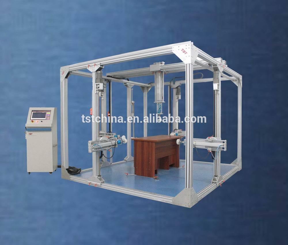TST-D010 Furniture mechanics comprehensive tester-5 test channel for the table/cabinet/bed