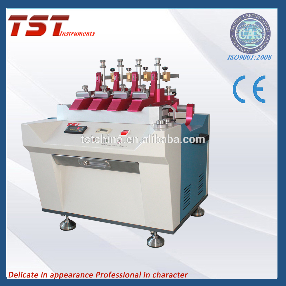 Textile fabrics abrasion resistance tester with oscillatory cylinder method Featured Image
