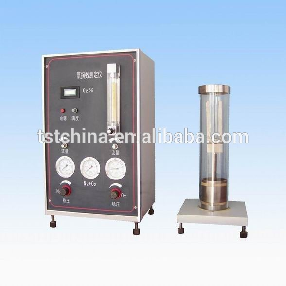 TST Film Oxygen Index Tester/ Foam Limiting Oxygen Index Test Equipment