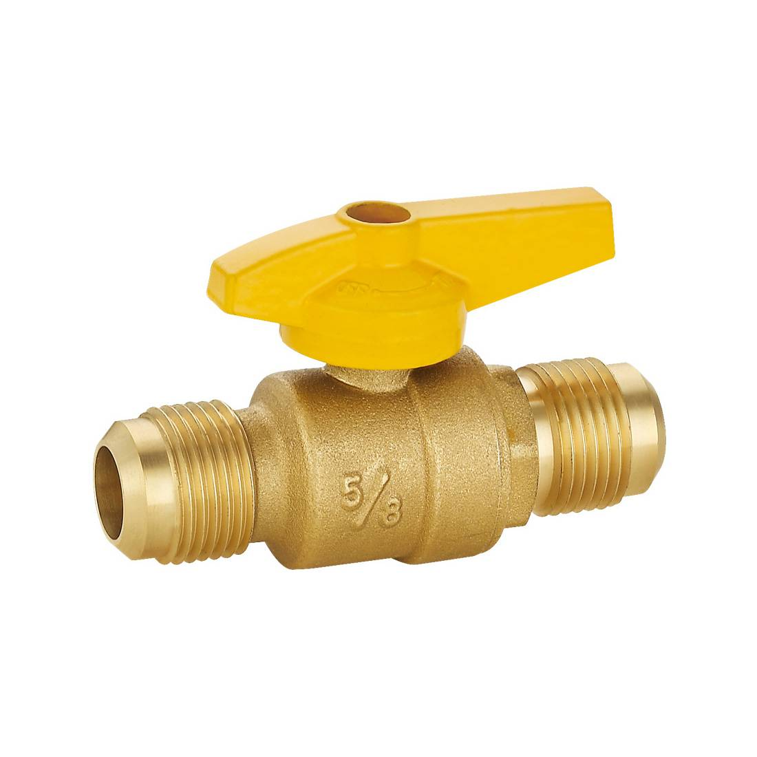 Brass Gas Ball Valve Flare x Flare Straight Featured Image