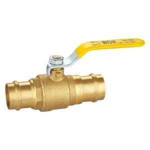 Press Ball Valves Two O-Ring