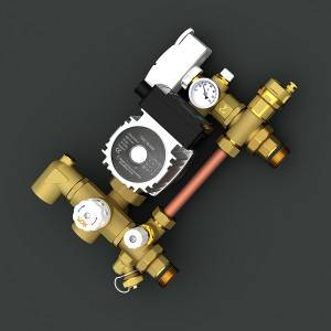 Manufacturer of Straight Brass Fitting - Differential Pressure Constant Temperature Mixed Water Center – Wandekai