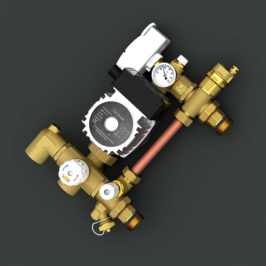 Differential Pressure Constant Temperature Mixed Water Center Featured Image