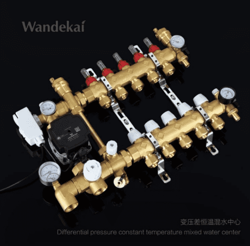 Wandekai set up the new producing line of HVAC System