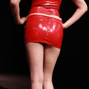 Bag Hip Skirt Summer Ladies Pvc Shiny Mini Skirt