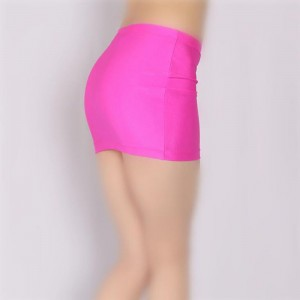 Sexy Miniskirt Pink Simple Tight Skirt