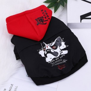 Puppy Clothes Trendy Brand Corgi Pug bulldog Small Dog Winter Pet Funny Puppy Fall Winter Clothes