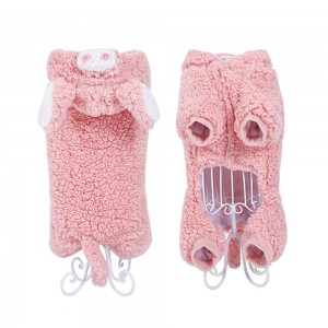 Pet Cat Clothes Autumn and Winter Funny Clothes Warm and Thickened Lovely Kitten Coat Pet Cross Dress