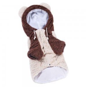 Pet Clothes Big Dog Coat Autumn and Winter Clothes