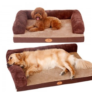 Dog's Nest Pet Sleeping Mat Dog Bed Dog Mat Can Be Removed and Washed Four Seasons Winter Warm Pet Dog's Nest