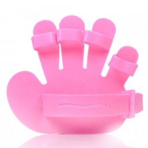 Cats and dogs bath clean massage brush five finger gloves