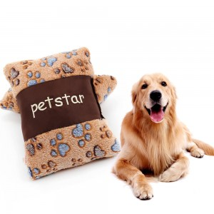 Caramel Macchiato Dog Small Pillow Cat Pillow
