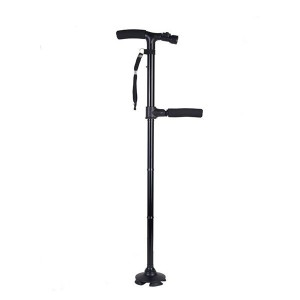 Folding Walking Stick with Lamp for The Elderly