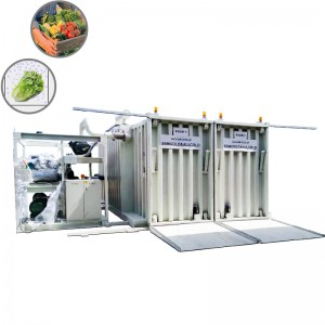 Vegetables vacuum cooler