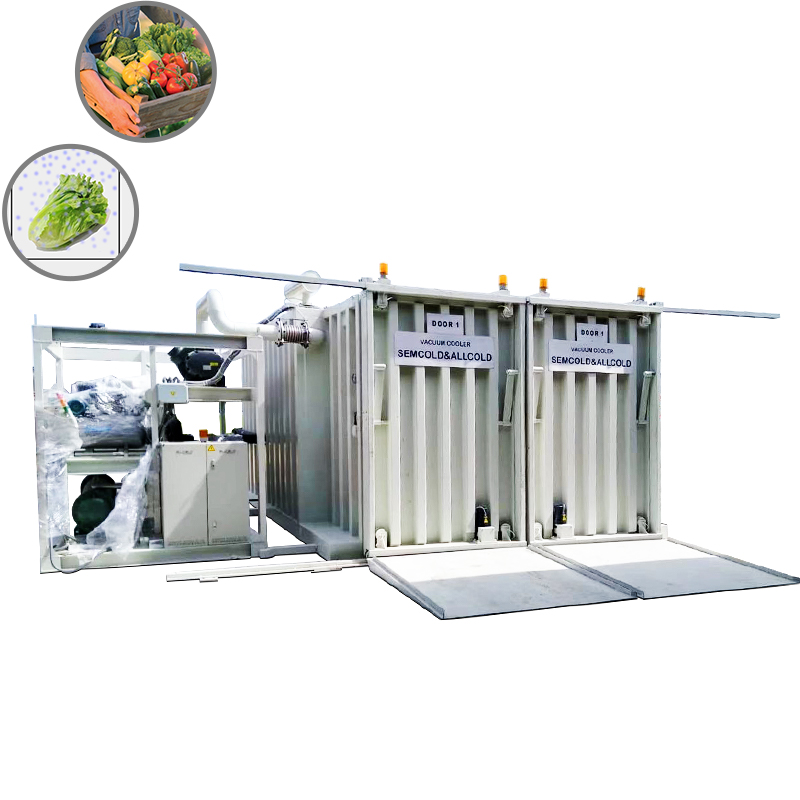 Vegetables vacuum cooler Featured Image