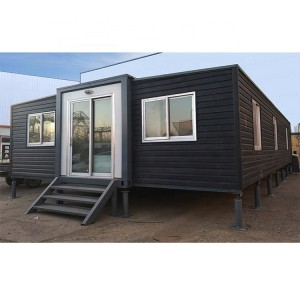 Expandable Container House Kits Prefab Home Luxury for Living