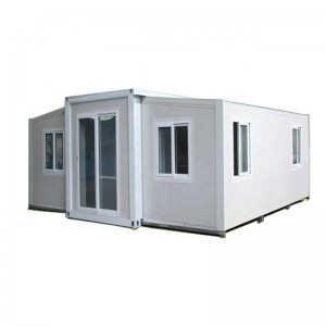 China Prefab modular homes house porta cabin  casa , australia 20ft and 40 ft foldable expandable container house for sale
