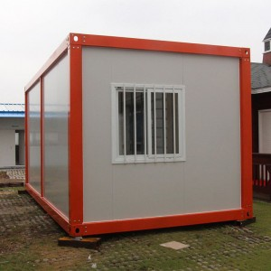 40Ft Luxury 2Bedroom Container Homes Prefab Flat Pack Container Houses