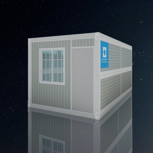 Easily Installing China 20FT Office Folding Container House For Sale
