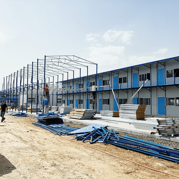 How do prefabricated house manufacturers reinforce the prefabricated house?