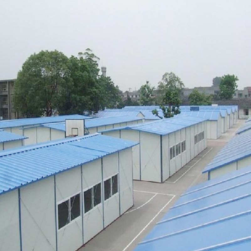 What are the main characteristics of the K-type prefabricated house?