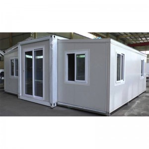 New Portable 20ft prefab expandable tiny container house(Bathroom, kitchen) prefab houses for sales