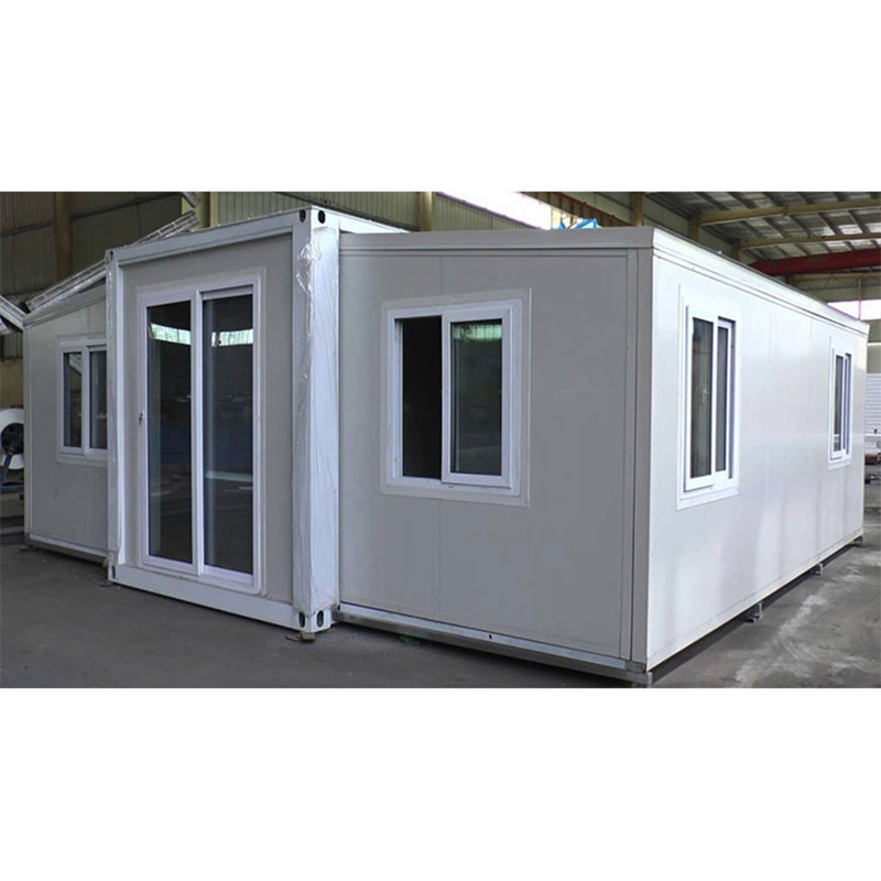 New Portable 20ft prefab expandable tiny container house(Bathroom, kitchen) prefab houses for sales Featured Image