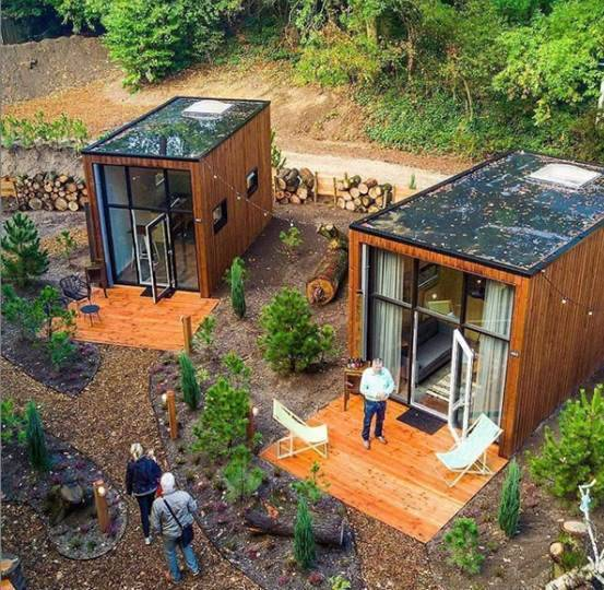 If you want a special house, container transformation is a good choice