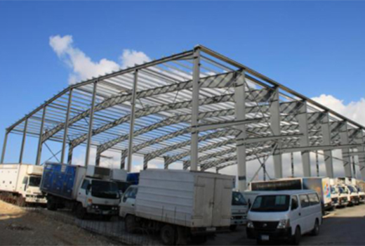 Ghana Steel Structure Warehouse Project