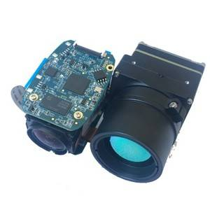 3.5X 4K and 640 Thermal Dual Sensor Drone Camera Module
