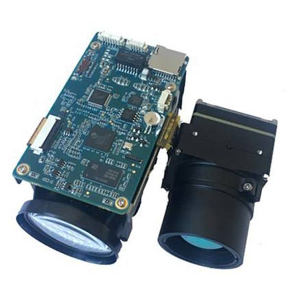30X 2MP and 640 Thermal Dual Sensor Drone Camera Module
