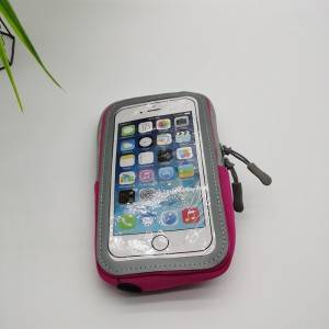 visiable arm phonebag