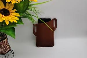 real leather phone bag