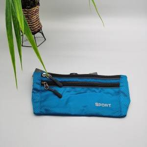 waist bag in blue color