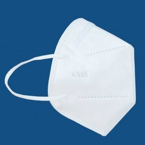 White Ear-loop Disposable Protective 3D Face Mask