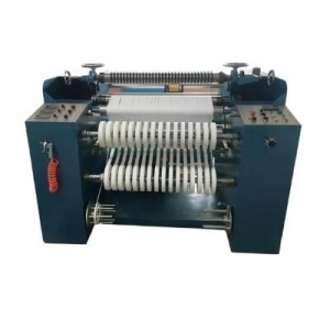 Cold Blade Slitting Machine For Nylon Taffeta